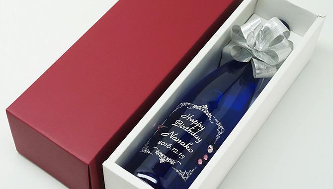 オリジナル名入れ彫刻ボトル