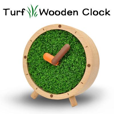 芝生置き時計