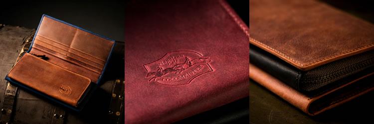 ナポレオンカーフ長財布