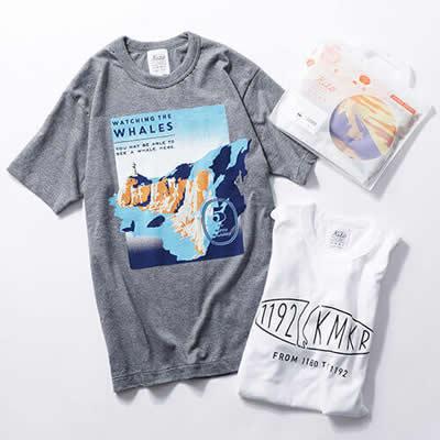 街モチーフTシャツ