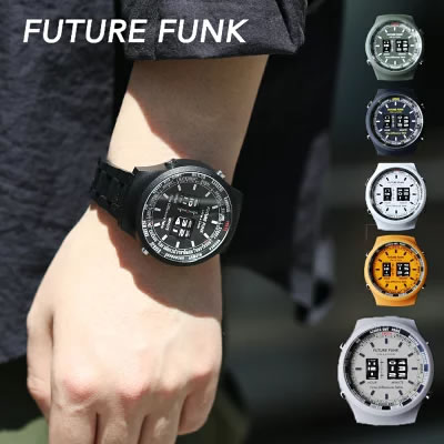 FUTURE FUNKローラー式腕時計